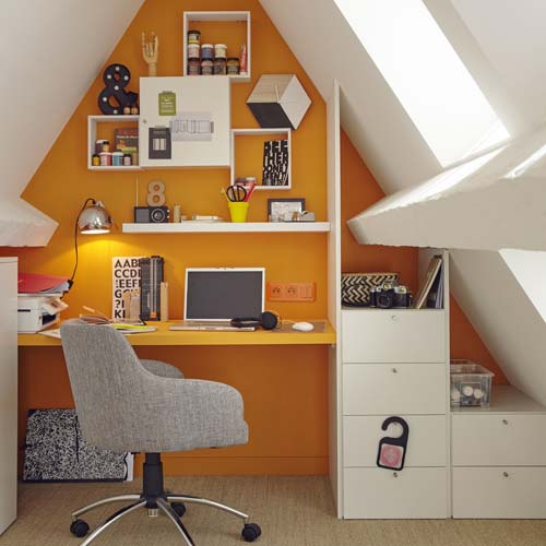 bureau combles orange